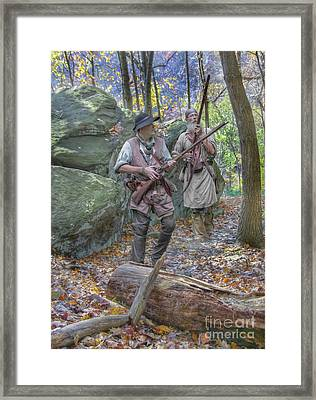 Into The Unknown  Framed Print by Randy Steele