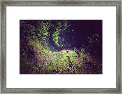 Into The Unknown Framed Print by Sarai Rachel