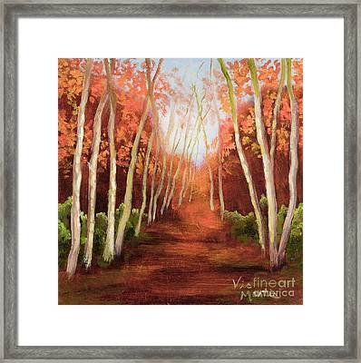 Into The Woods-series Framed Print