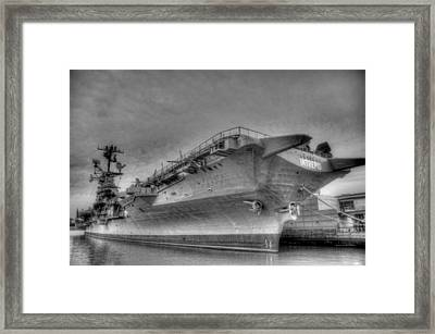 Intrepid Framed Print