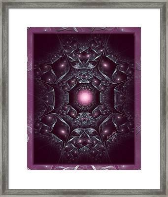 Intricate Prison Framed Print