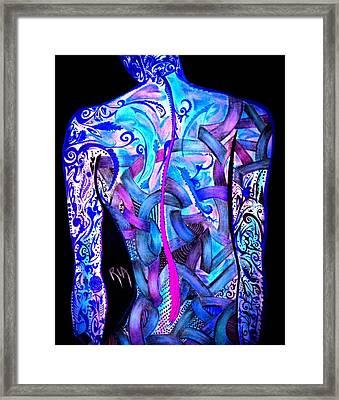 Intricate Woman Framed Print