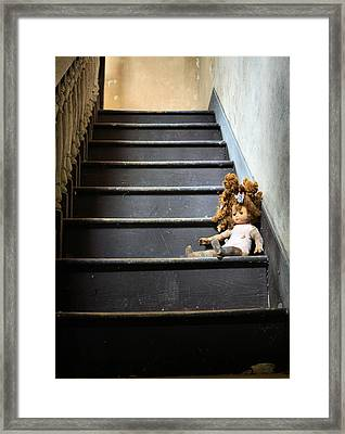 Introducing Red Framed Print by JC Findley