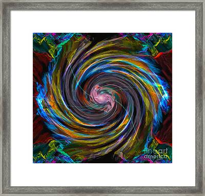Intuition Framed Print by Gwyn Newcombe