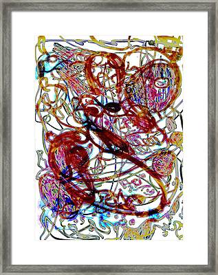 Intuition Framed Print by Laura Kaschmitter