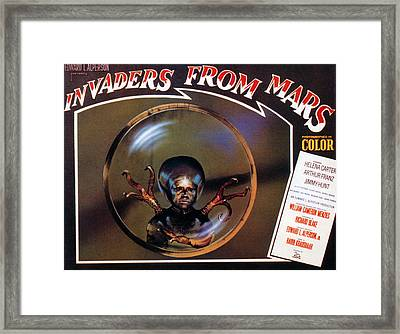 Invaders From Mars, Poster, 1953 Framed Print