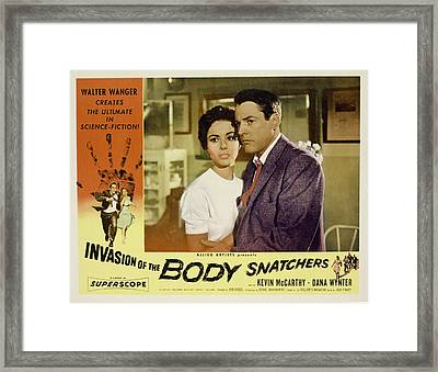 Invasion Of The Body Snatchers Framed Print by Everett