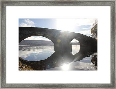 Inveraray Bridge Framed Print by David Grant