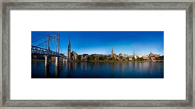 Inverness Waterfront Framed Print