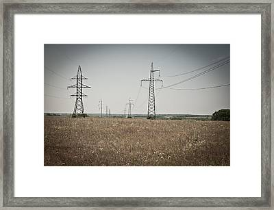 Invisible Power Framed Print by Sasha Gurkova