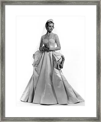 Invitation, Dorothy Mcguire, 1952 Framed Print