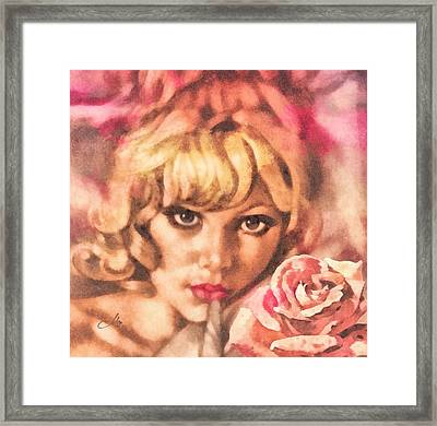 Invitation Framed Print by Mo T