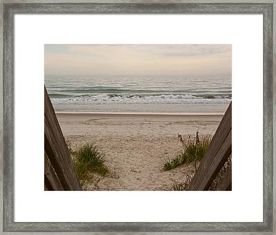 Invitation To Relaxation Framed Print