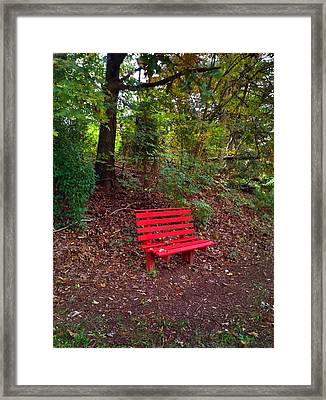 Inviting Framed Print by Janice Spivey