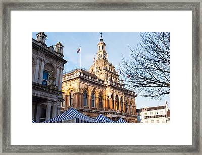 Ipswich Town Hall Framed Print