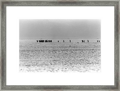 Iraqi Soldiers Surrender To The 1st Framed Print