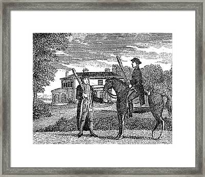 Ireland: Anti-methodist Framed Print by Granger