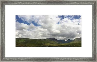 Ireland Panorama Framed Print