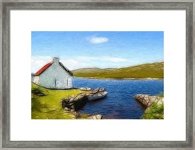 Irelands Beauty Framed Print by Steve K