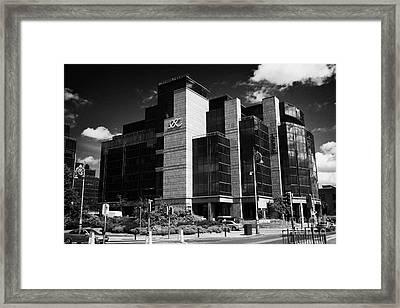 Irelands Ifsc International Financial Services Centre In Dublins Docklands Dublin City Centre Framed Print