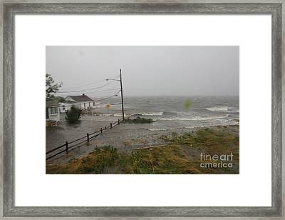 Irene And The Great South Bay Framed Print by Scenesational Photos