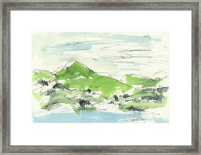 Irish Bay Framed Print