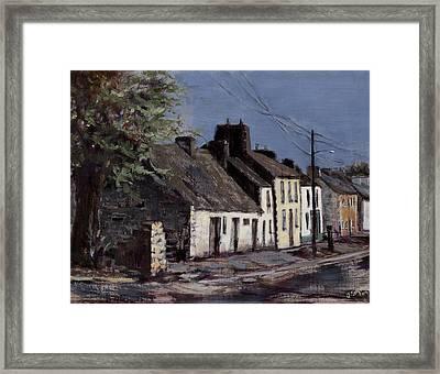 Irish Cottages Framed Print