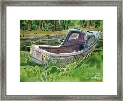 Irish Fishing Boat Framed Print by Donald Maier