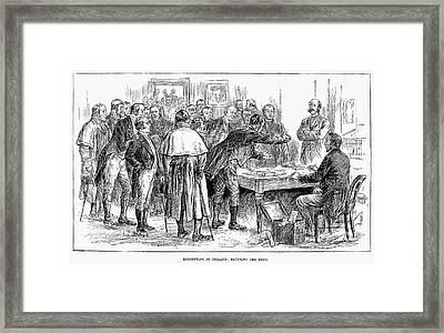 Irish Land League, 1886 Framed Print by Granger