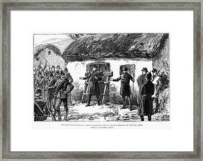 Irish Land League, 1887 Framed Print by Granger