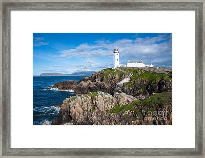 Irish Lighthouse Framed Print by Andrew  Michael