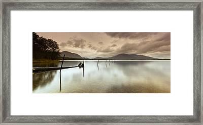 Irish Silver Framed Print by Brendan O Neill