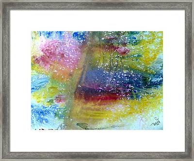 Irish Weather Framed Print by Tis Art