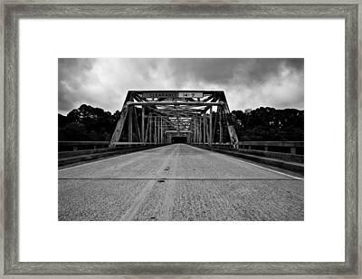 Iron Bridge Mississippi Framed Print by Bryan Burch