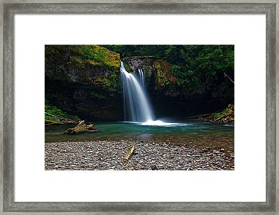 Iron Creek Falls 2 Framed Print by Marcus Angeline