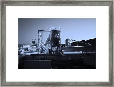 Iron Duke Mine 02 Framed Print by David Barringhaus