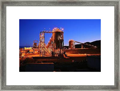 Iron Duke Mine Framed Print by David Barringhaus