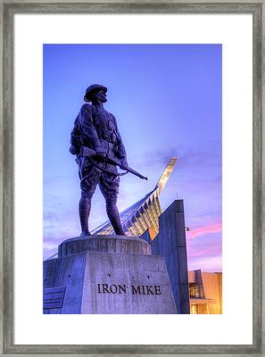 Iron Mike Framed Print by JC Findley