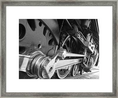 Iron Power  Framed Print