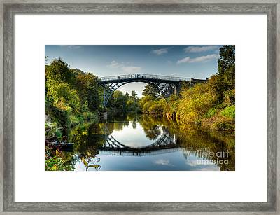 Ironbridge Framed Print by Adrian Evans
