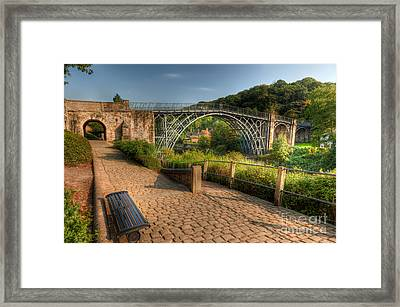 Ironbridge England Framed Print by Adrian Evans