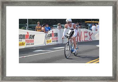 Ironman Framed Print by Charles  Jennison