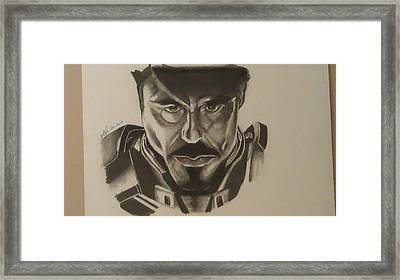 Ironman Framed Print by Shawn Brooks