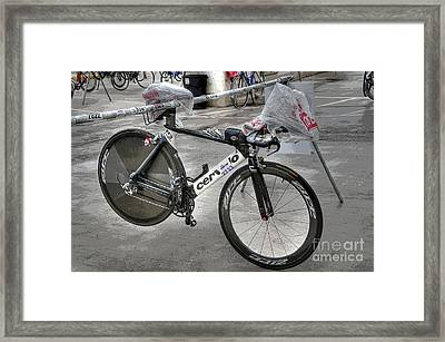 Ironman Tool Framed Print by David Bearden