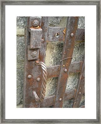 Ironworks Framed Print