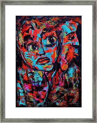 Irreconciable Framed Print by Natalie Holland