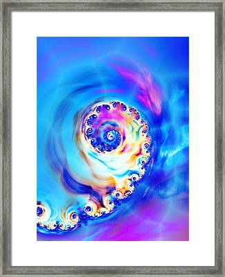 Irridescence Framed Print by Sharon Lisa Clarke