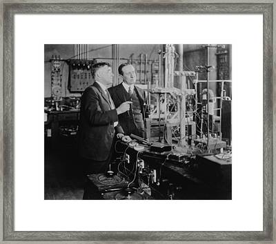 Irving Langmuir 1881-1957 Framed Print by Everett
