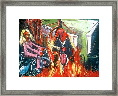 Is It Not The Age For The Destruction Of Motherhood Framed Print