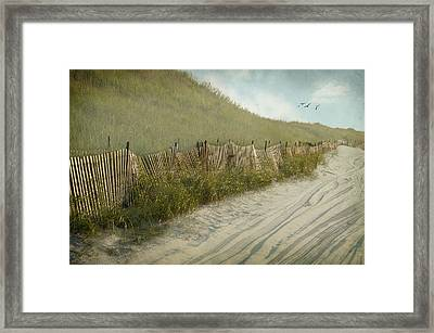 Is The Grass Greener Framed Print